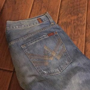 Men's seven jeans 34 a pocket relaxed
